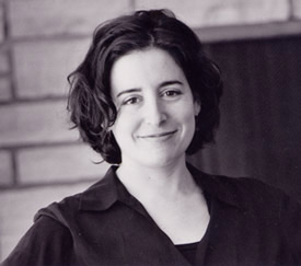 Author Aimee Bender.