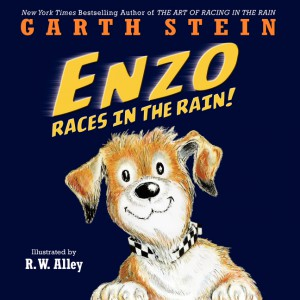 Enzo Races in the Rain by Garth Stein.