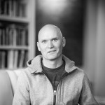 Anthony Doerr in his home, Boise Idaho.