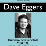 HP LitFest promoting Dave Eggers for Feb 2015 events=