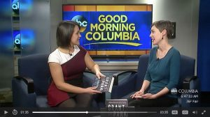 Good Morning Columbia highlights Leonard Pitt's Grant Park as Columbia, SC's 2017 One Book, One Community selection