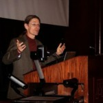 Thor Hanson speaks at the Bell Museum of Natural History